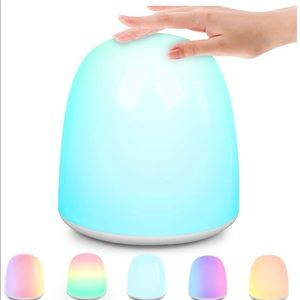 NEW Touch Changing Color Bedside Lamp